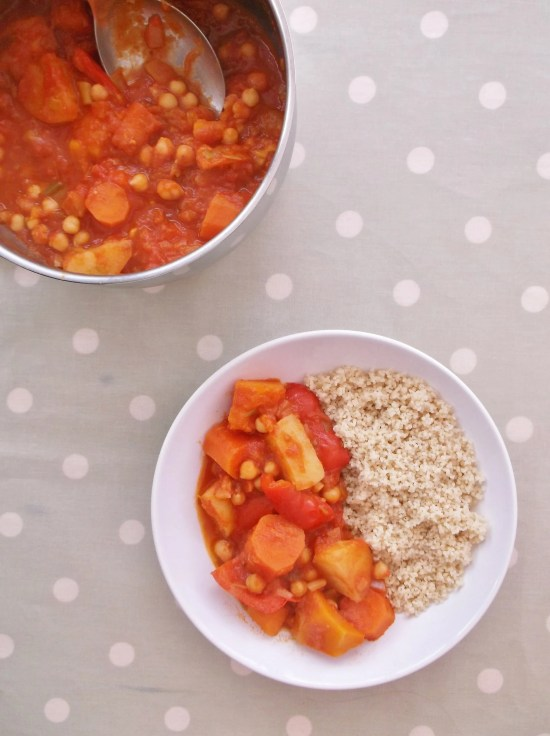 Root Veg and Chickpea Tagine