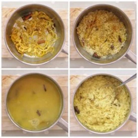 Easy Peasy Pilau Rice Step by Step