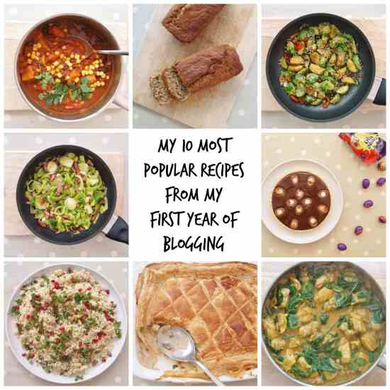 10 most popular recipes on Easy Peasy Foodie