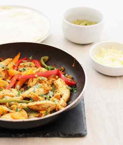 Homemade Chicken Fajitas (from scratch)