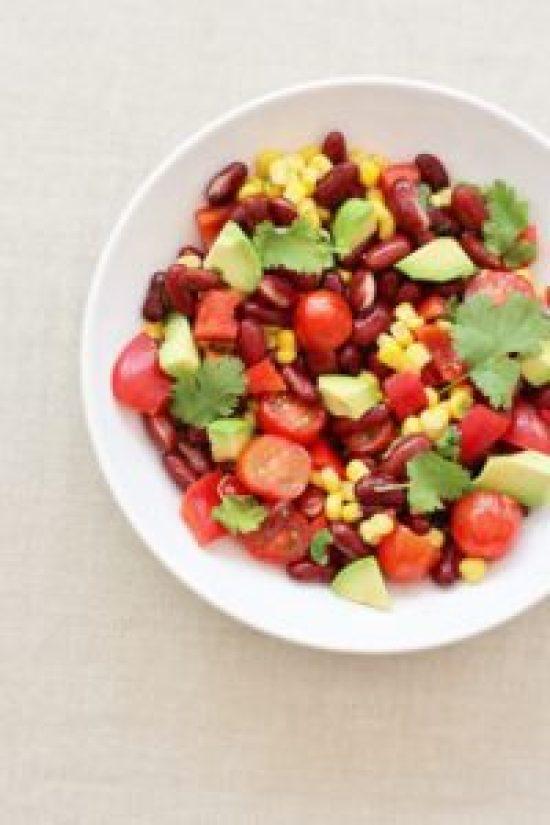 5 Minute Mexican Salad