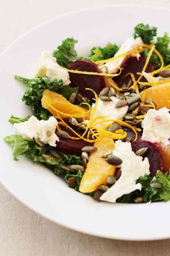 Beetroot, Kale and Orange Salad from Ready Steady Glow by Madeleine Shaw