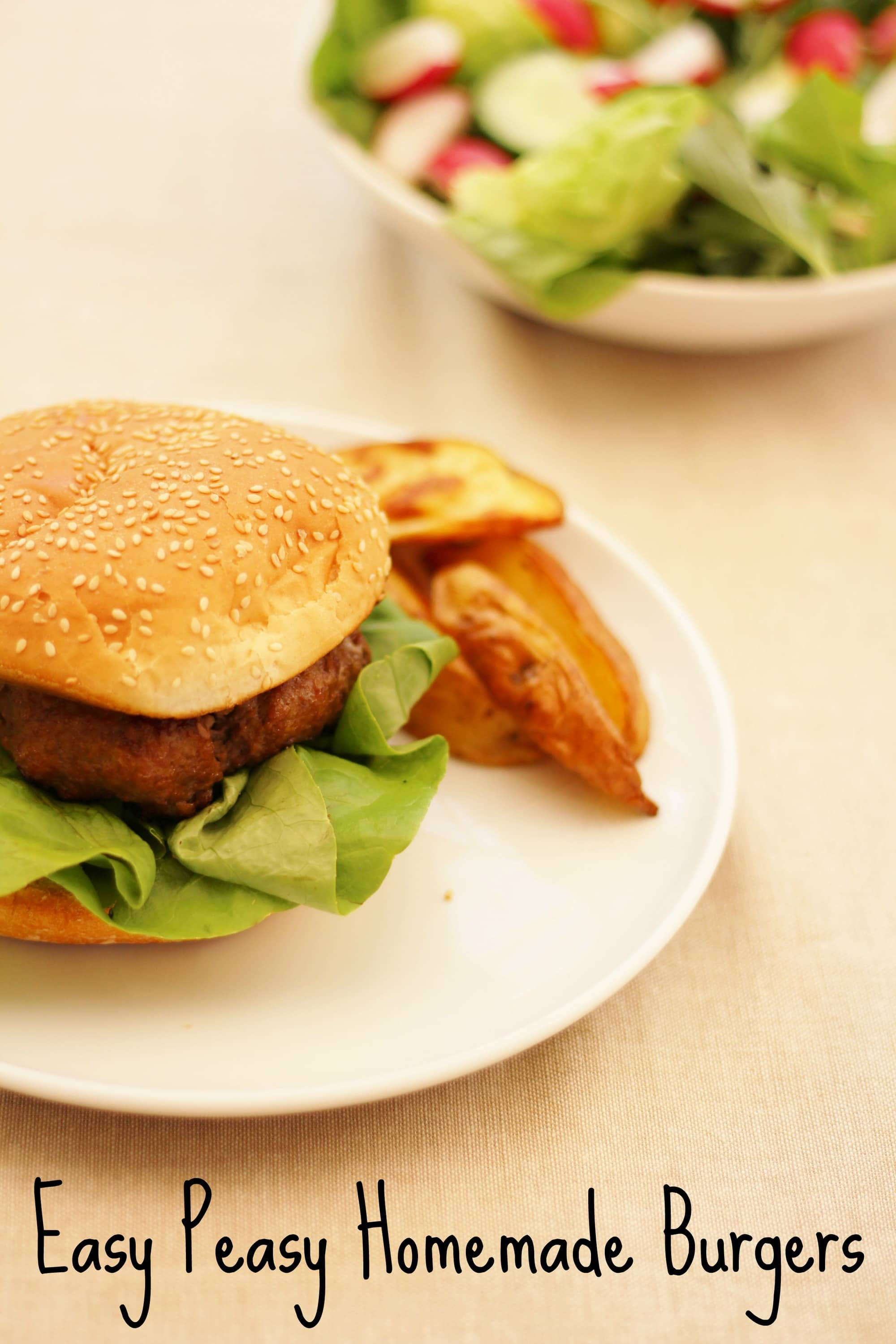 Easy Peasy And Fun: Easy Peasy Homemade Burgers