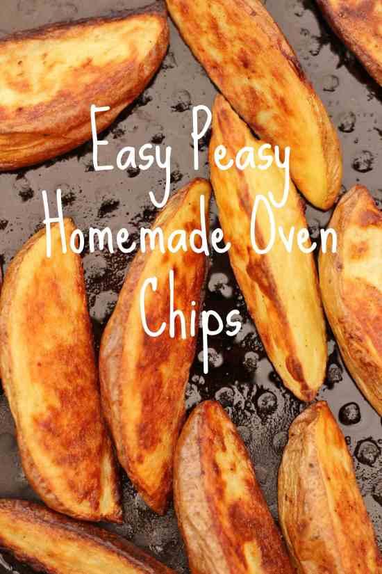Easy Peasy Homemade Oven Chips