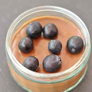 Madeleine Shaw's Raw Chocolate Avocado Mousse from Get the Glow
