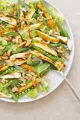 Shredded Thai Chicken Salad with Toasted Cashews from Ready Steady Glow by Madeleine Shaw