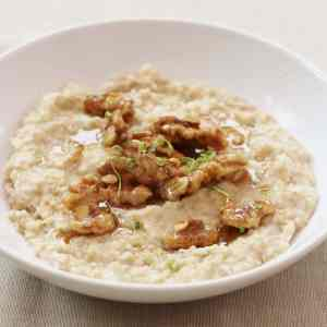 Coconut and Lime Porridge from Ready Steady Glow by Madeleine Shaw