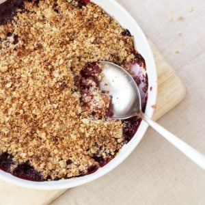 Madeleine Shaw's Cherry Crumble from Get the Glow