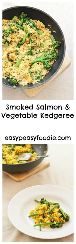 Smoked Salmon and Vegetable Kedgeree