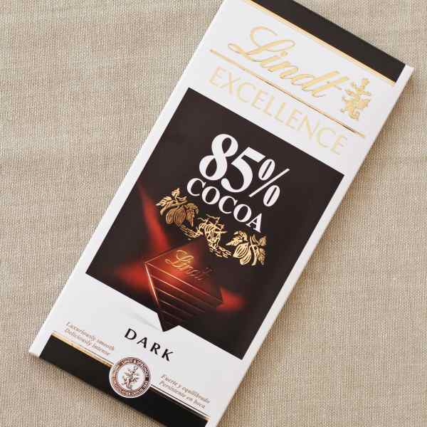 Lindt 85% Chocolate for the Sirtfood Diet