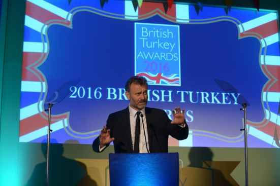 Hugh Dennis at the British Turkey Awards 2016