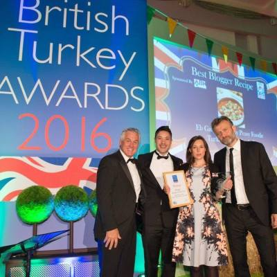 Winner of 2016 British Turkey Awards Best Blogger Recipe of the Year!