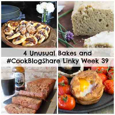 4 Unusual Bakes and #CookBlogShare Linky Week 39