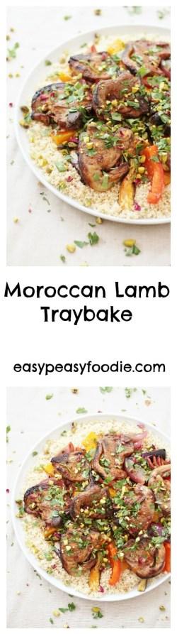 Moroccan Lamb Traybake
