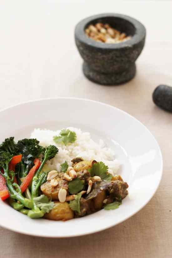 Thai Beef Massaman Curry