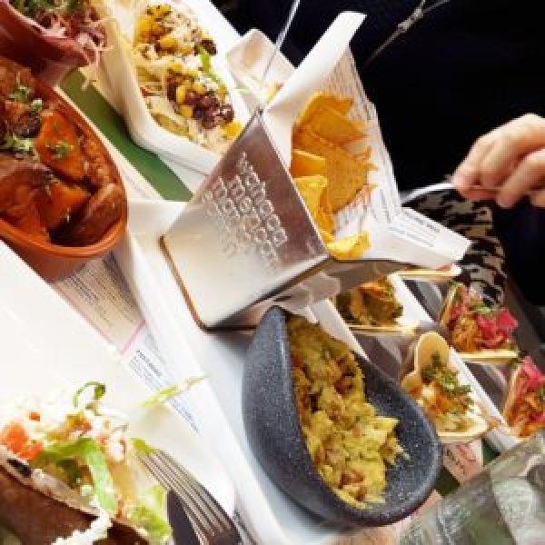 Birthday Lunch at Wahaca Brighton