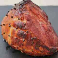 Mulled Wine Christmas Ham