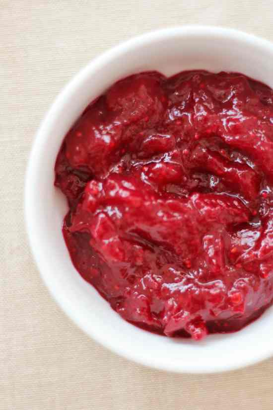Easy Peasy Cranberry Sauce