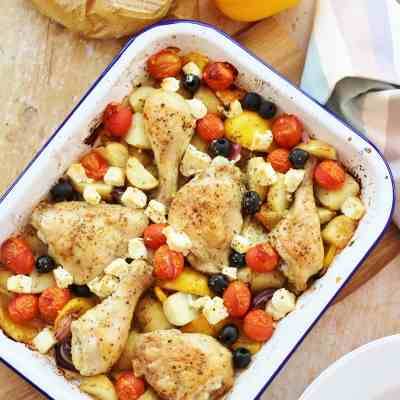 Greek Style Chicken Traybake