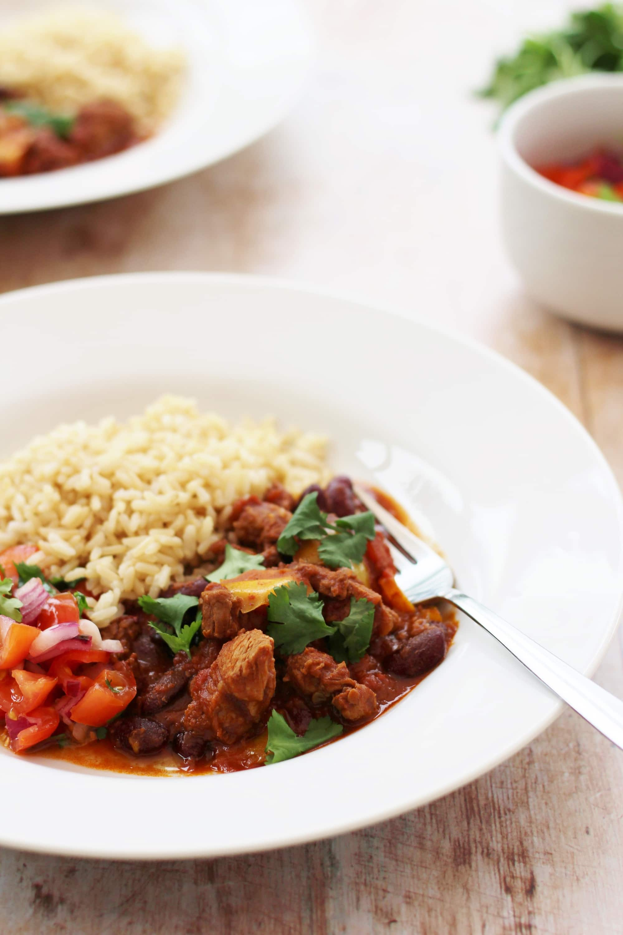 Spicy Mexican Lamb Stew & Easy Peasy Salsa - Easy Peasy Foodie