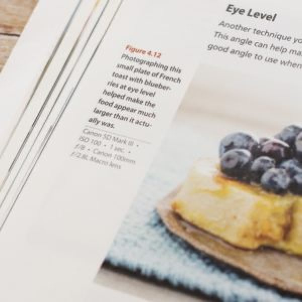 Review & Giveaway: Food Photography – From Snapshots to Great Shots