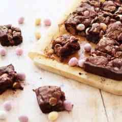 Mini Egg Brownies Gluten Free
