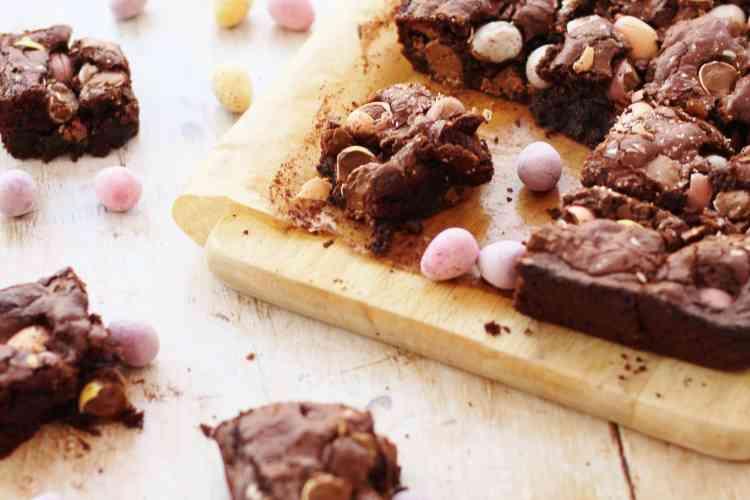 Mini Egg Brownies (Gluten Free)