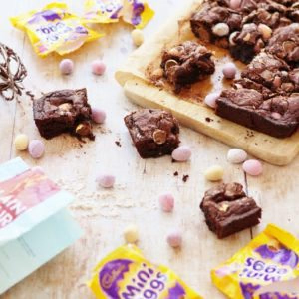 Mini Egg Brownies (Gluten Free)