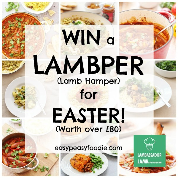 Win A Lambper (Lamb Hamper) worth over £80 for Easter!