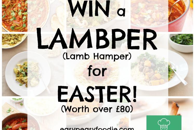 Win a Lambper (Lamb Hamper) for Easter!