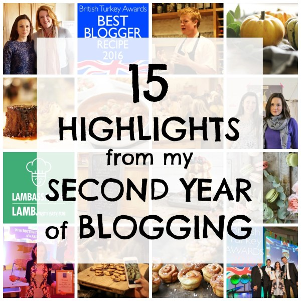 15 highlights from my second year of blogging | easypeasyfoodie.com