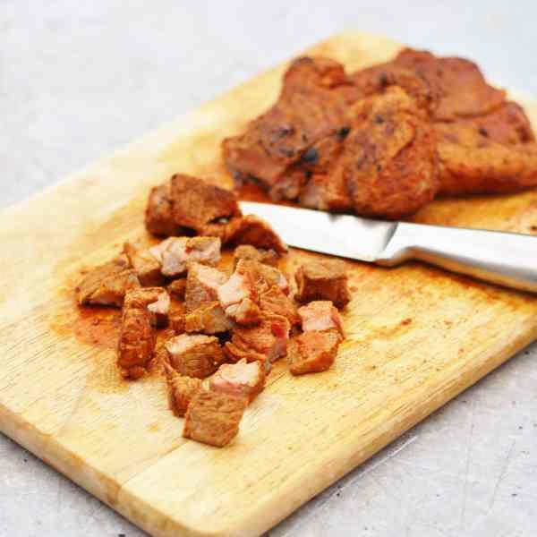 Mexican Spiced Lamb Leg Steaks