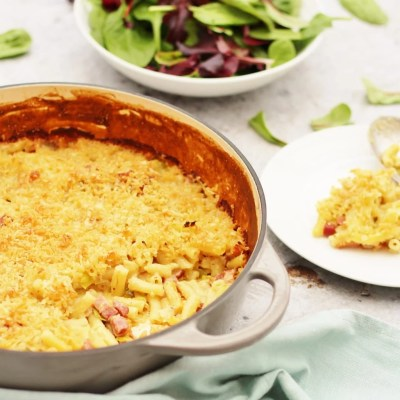 Leek and Bacon Macaroni Cheese