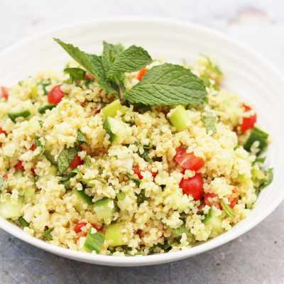 Easy Tabbouleh Salad (Vegan)