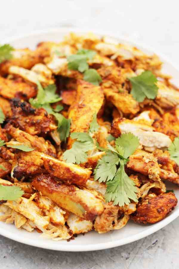 Oven Baked Chicken Shawarma with Garlic Sauce