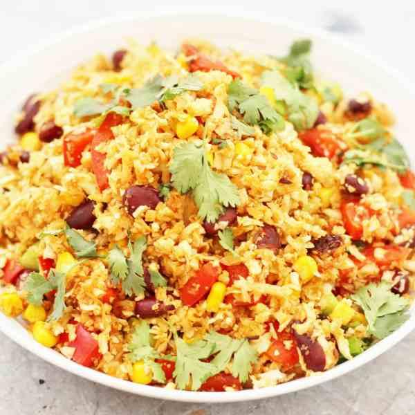 Mexican Spiced Cauliflower Rice