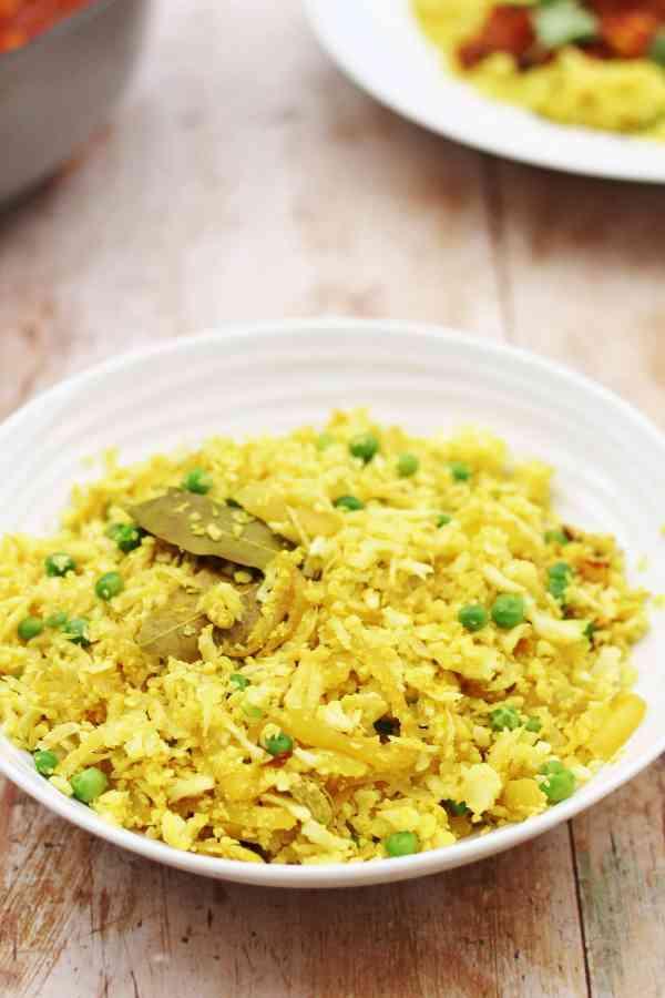 Pilau Cauliflower Rice