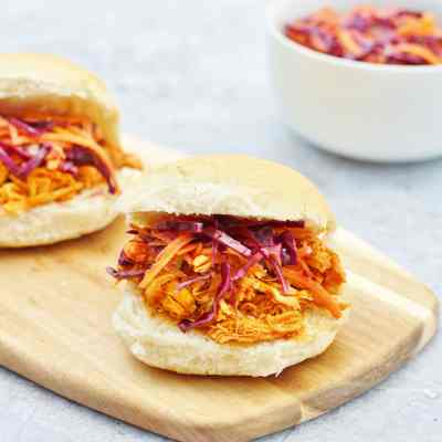 Slow Cooker BBQ Chicken Sliders and Crock-Pot Review
