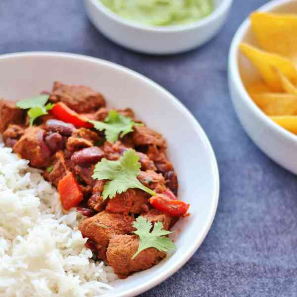 Slow Cooked Beef Chilli