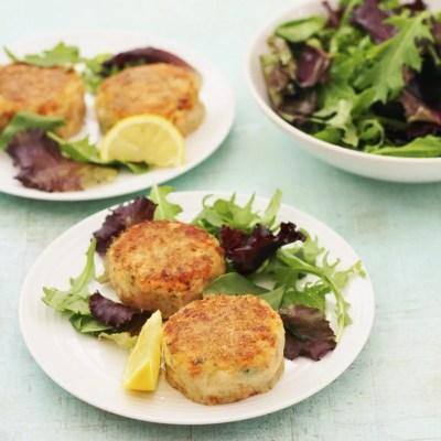 Easy Peasy Salmon Fishcakes