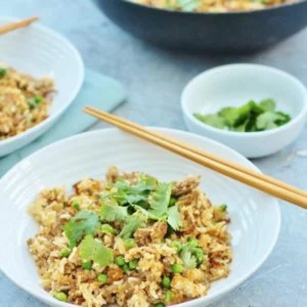 Chinese Style Lamb Fried Rice