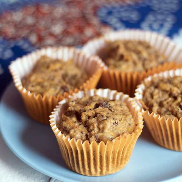 Healthy Carrot Muffins (Vegan)