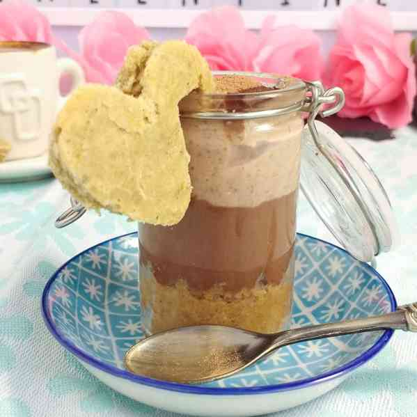 Creamy Vegan Tiramisu Dessert (Dairy Free, Egg Free, Soy Free, Gluten Free, Nut Free) for Valentines Day