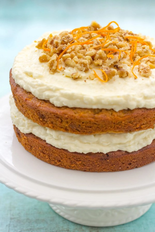 Coconut Pineapple Carrot Cake - Easy Peasy Foodie