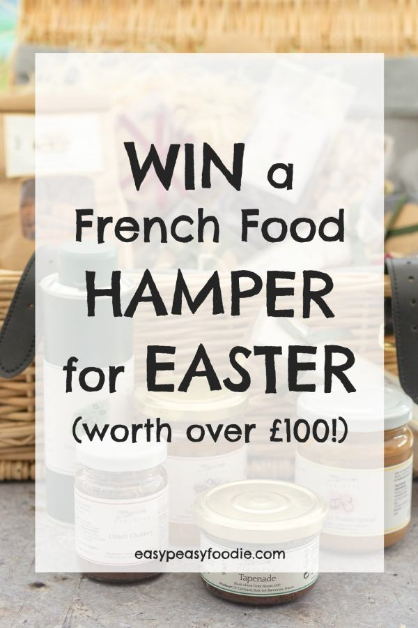 WIN a French Food HAMPER for EASTER (worth over £100!) #win #hamper #french #frenchfood #provence #giveaway #competition #easter #easter2018 #tarietteuk