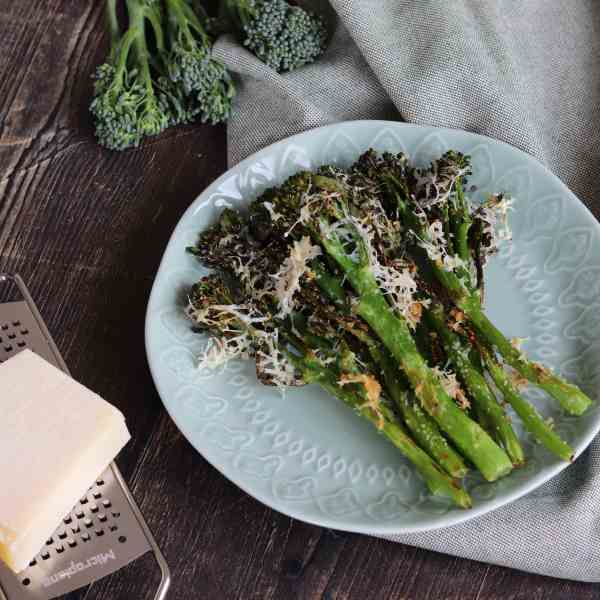 Roasted Parmesan Tenderstem Broccoli