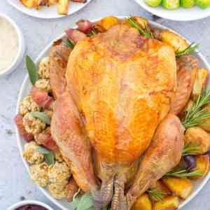 Christmas Dinner Time Plan and Shopping List