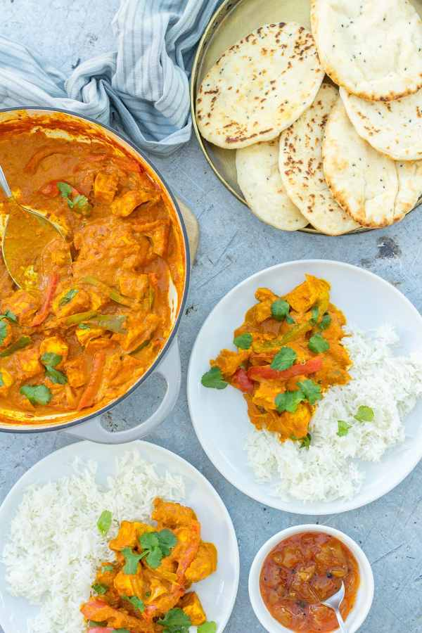 Easy Leftover Turkey Curry
