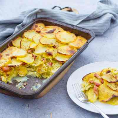 Sprout Gratin