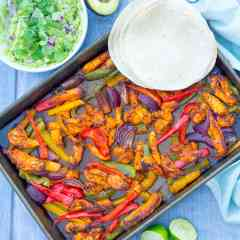 Easy Sheet Pan Chicken Fajitas